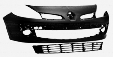"RENAULT CLIO  FRONT BUMPER  ( 15""  wheels type  ) 2006 - 2009   NEW NEW   INC  GRLLS"